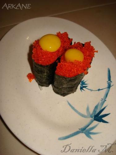 Uzura Nigiri = Quail Egg