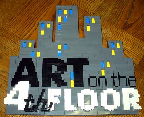 LEGO Art on 4th Floor Logo