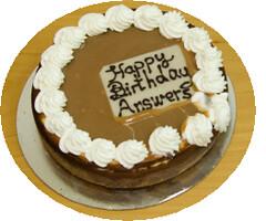 Happy birthday Answers!