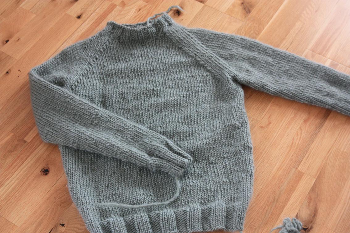 Ny genser til Jonas