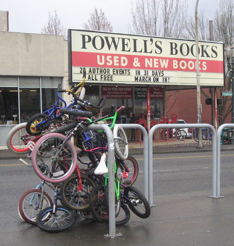 Zoobomb Pile + Powell\'s Books