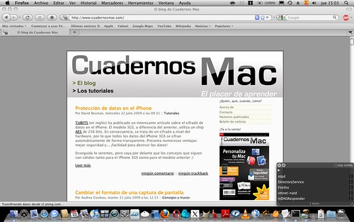 tutoriales y algo mac ;)