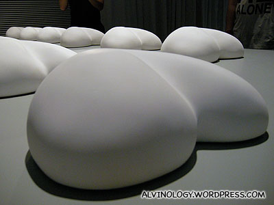 These look like rows of bums to me