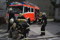 Übung Werkstattbrand 18.07.09