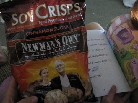 Newman's Own Organics Cinnamon Sugar Soy Crisps