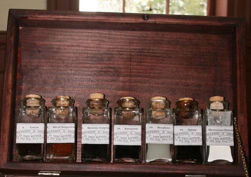 Civil War medicine chest