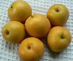 My favourite fruit - nashi (Asian pears, Pyrus...