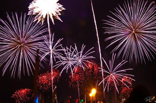 Montreal Fireworks 2009 - July 4 - Australia