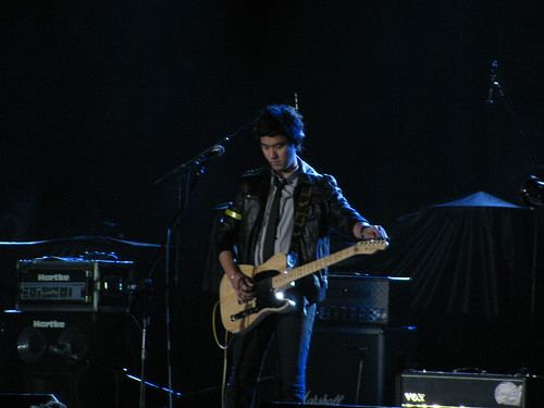 Ely Buendia of Pupil at NIN concert
