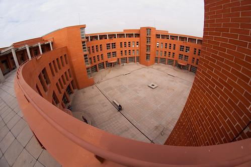 El patio de la escuela politécnica
