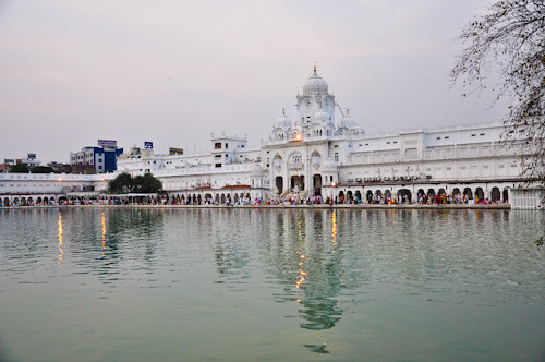 Picture of temple compound.