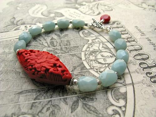 Red Lotus bracelet