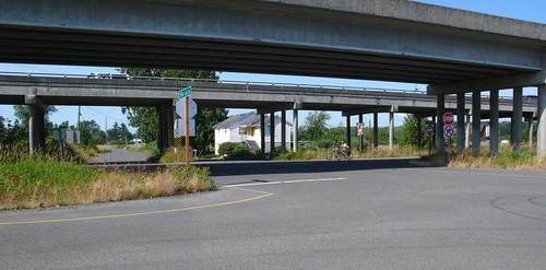 Ebey Slough on the periphery of Everett, Washington.