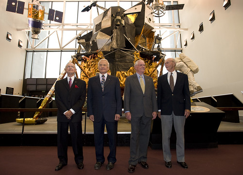 Glenn Lecture With Crew of Apollo 11 (200907190002HQ)