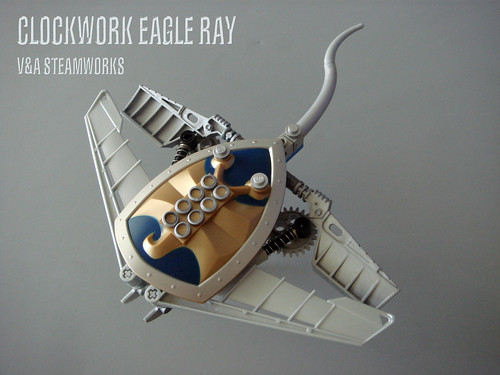 LEGO steampunk eagle ray