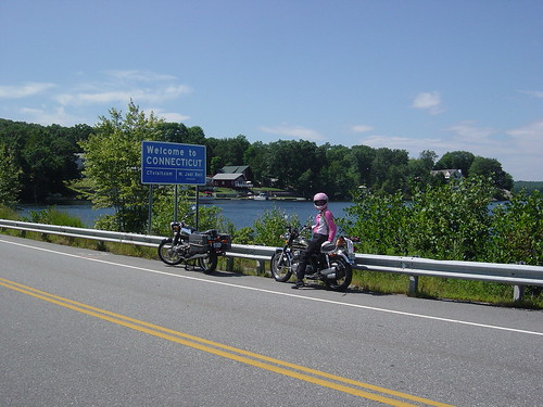 Route 165 into CT