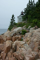 Bass Harbor Head Lighthouse Mt Desert Island