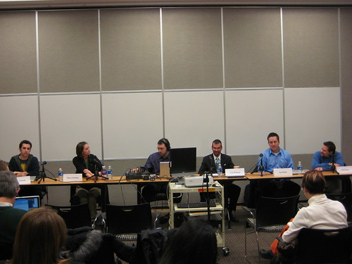 Social Media Discussion panel