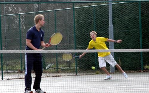 Tennis vs Northumbria, 28.01.09, Photo: Arran Bowen-la Grange.