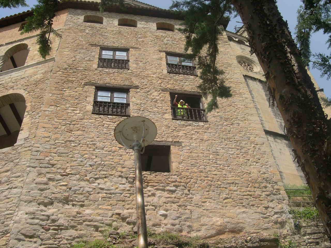 Monasterio cercano a Huesca