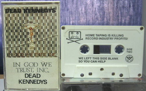 Dead Kennedys, Blank side of Tape :)