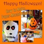 DIY: Halloween Paper-Maché Piñatas