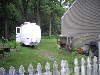Indiana - The best campgrounds are often backyards!