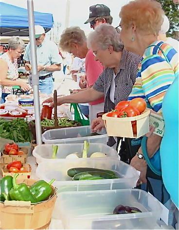 Farmer's Market Customers