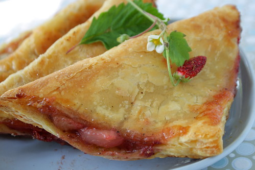 Peach Berry Turnovers