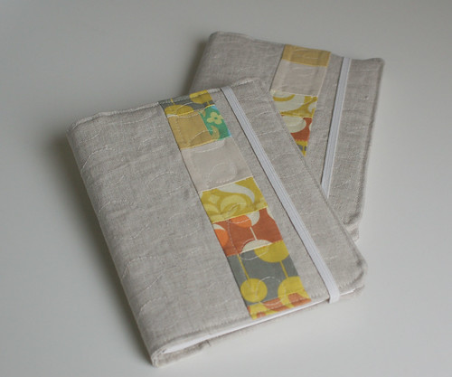 More Linen Covered Notebooks by you.