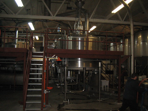 The new Georgetown brewhouse.