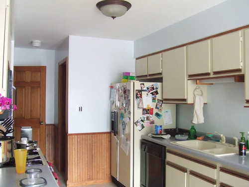 Kitchen, looking left from main room