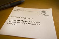 mechanolater