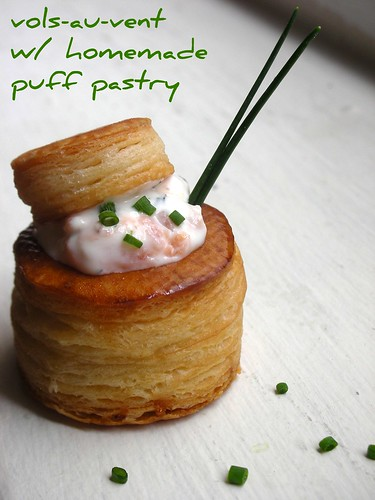 Daring bakers in september vols au vent with michel for Puff pastry canape