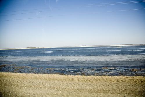 Flooded fields 032009