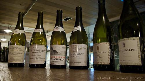 2007 Yves Cuilleron St-Joseph Blanc & 2004 Clos de Vougeot Tasting