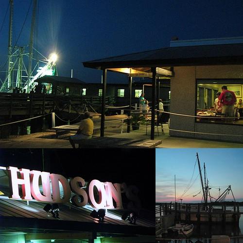 Hilton head south carolina dining hudson s off the broiler for Fish restaurant hilton head
