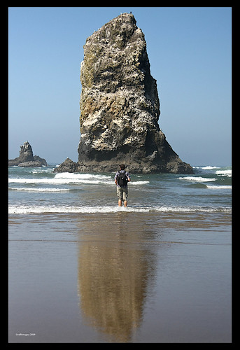Canon Beach Oregon, August 27 2009 by you.