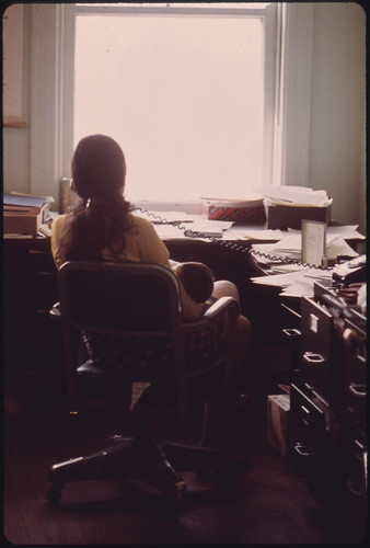 Ms. Gail Falk Seltzer, a Black Lung Benefits Staff Lawyer for the United Mine Workers Field Services Office in Charleston, West Virginia 04/1974