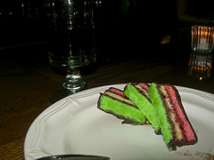 rainbow cookies at Pi Bar