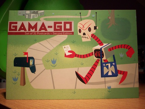 gama go postcards