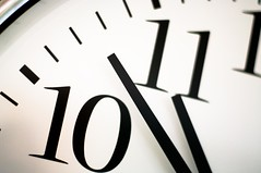 The clock by steve.grosbois, on Flickr