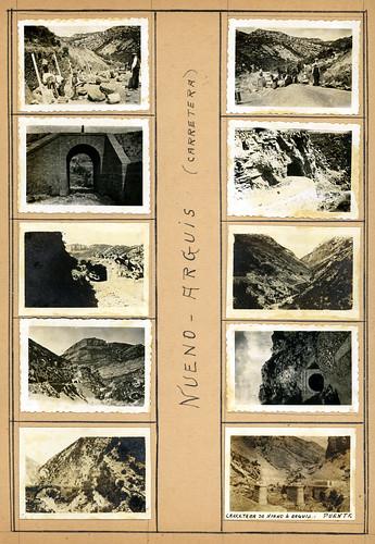 ADACAS - 02: Construcción de la carretera de Arguis a Nueno, Huesca. 1921-1924