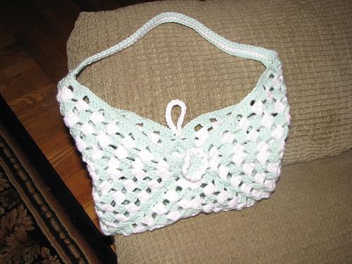 Granny bag open