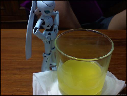 Ojou-sama & Weird drink