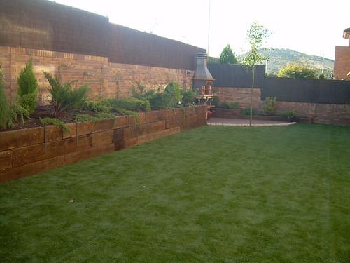 jardín combinado