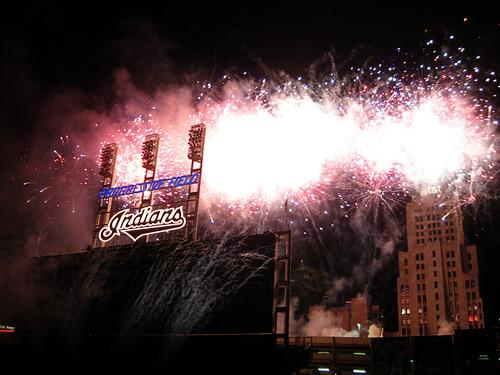 baseball fireworks