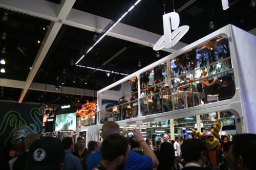 The Playstation Stand, E3