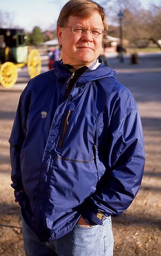 Dad, Williamsburg. (Fuji Provia 100F. Nikon F100. Epson V500.)