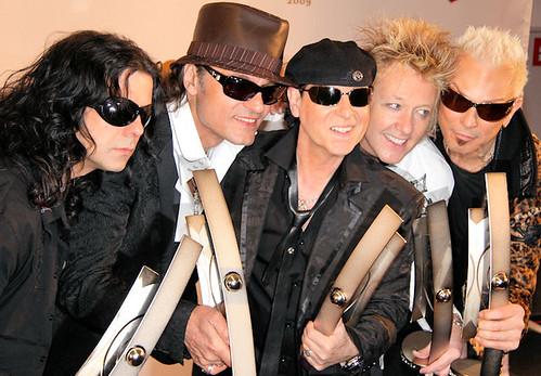 A banda Scorpions.